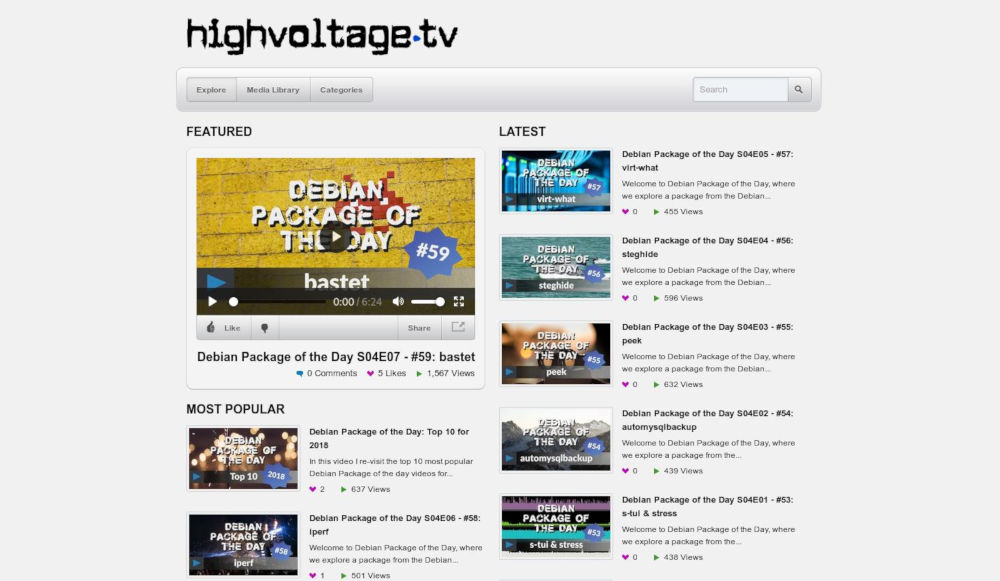 Wall of News Linux News - Debian